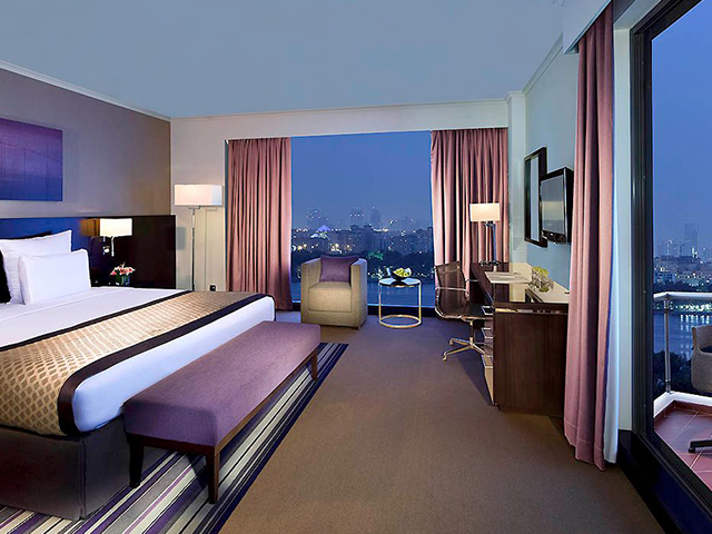 A room with a view at Pullman Dubai City Centre Deira