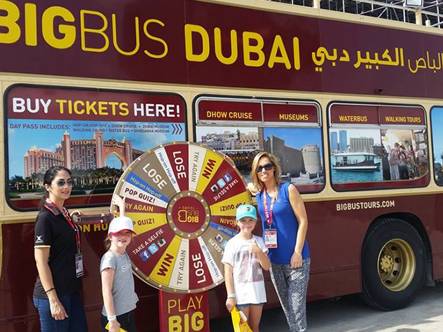 Take in the sights and sounds of Dubai with Big Bus
