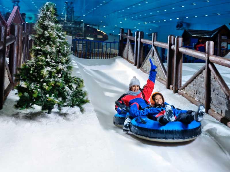 3a6851a96 أفضل الأماكن للاحتفال بالكريسماس في الإمارات