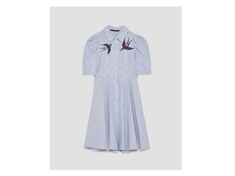 b3197f81ce2 Shirt dress by Zara available at Mall of the Emirates and City Centres