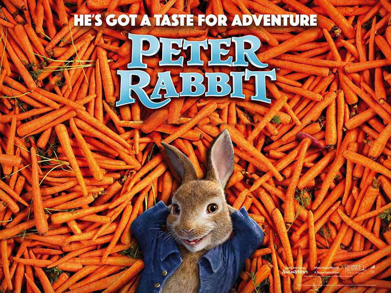 Peter Rabbit movie at Vox Cinemas in Dubai