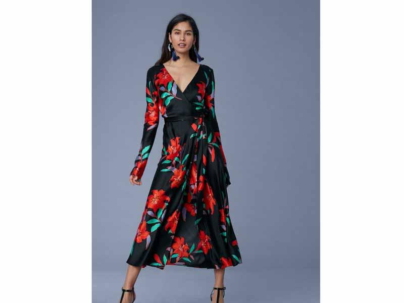558d5bcd775 Diane von Furstenberg s classic wrap dress Dubai