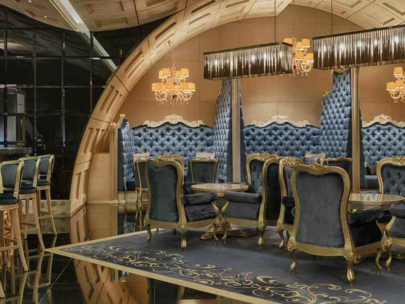 Delicious cocktails at Boudoir bar and lounge in Bahrain