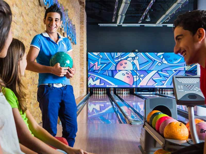 The best bowling alley in Dubai