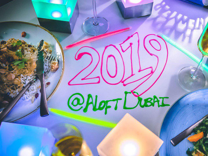 2019 Christmas and New Year's Eve celebrations at aloft Hotel City Centre Deira, Dubai