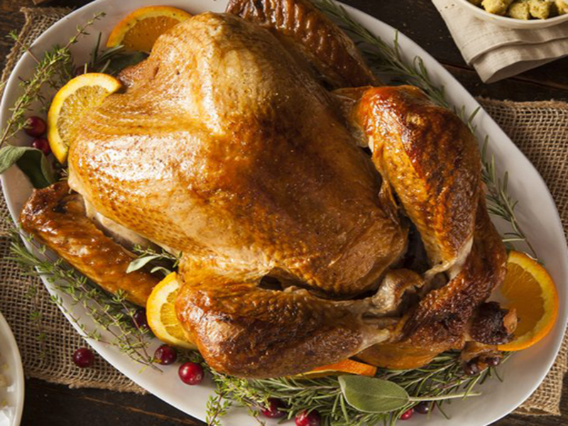 Roasted- Honey Glazed Turkey