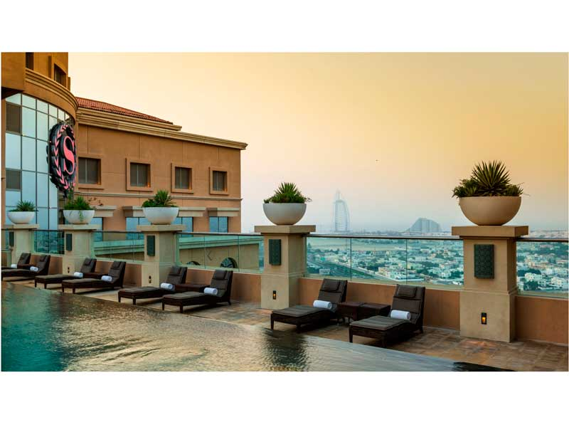 A staycation at Sheraton Dubai Mall of the Emirates Hotel