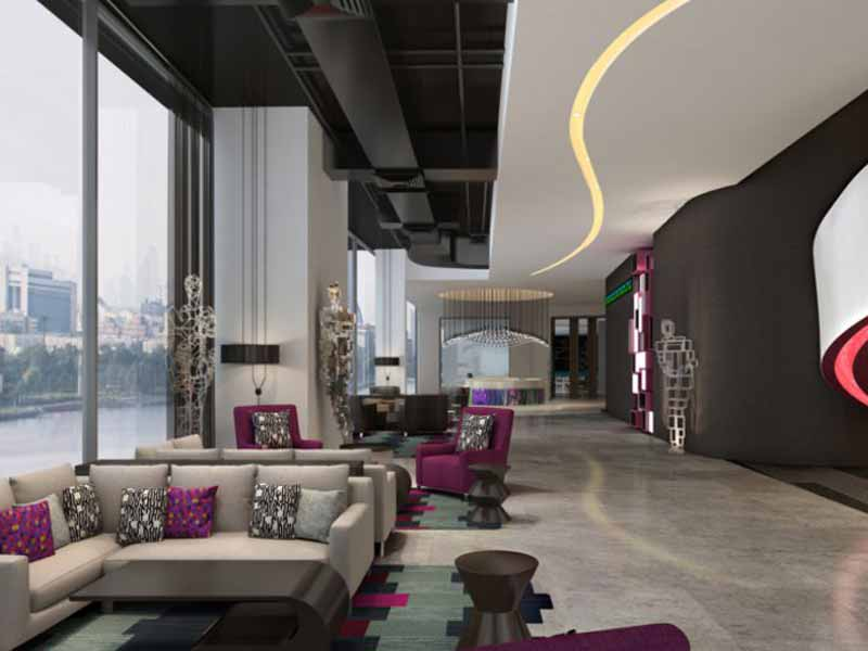 Book your stay at Aloft Hotel City Centre Deira