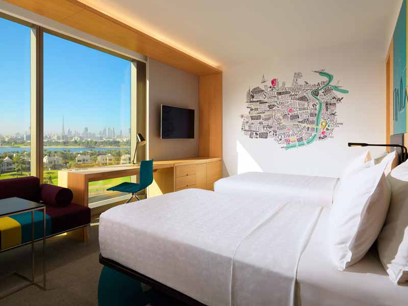 Aloft Hotel is one of the best new hotels in Dubai