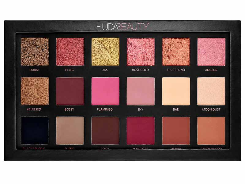 Huda Beauty at Sephora Dubai's Rose Gold Edition Eyeshadow Palette