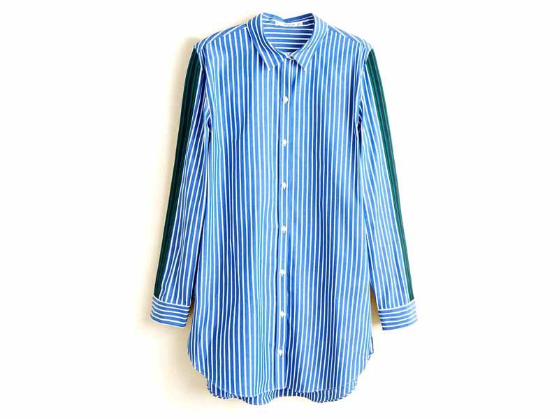 9c3c4d176 قميص بأكمام طويلة، من مانجو، في مول الإمارات ومراكز سيتي سنتر للتسوق