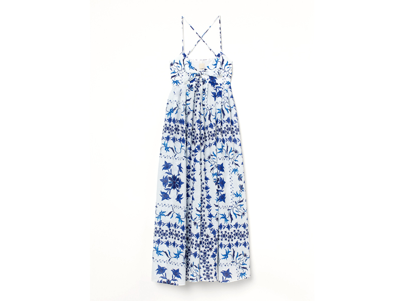 A printed summer dress from H&M's new fashion collection