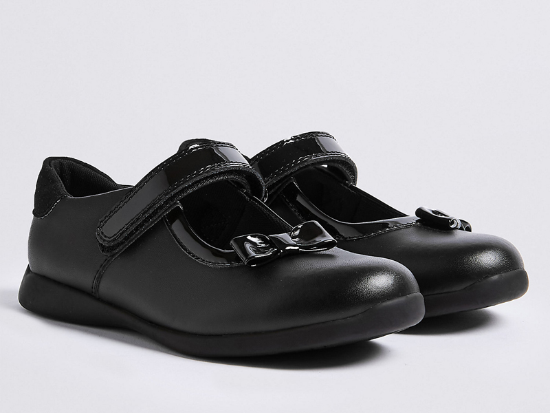 Girls leather school shoes from Marks & Spencer at City Centre Deira