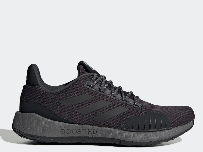 Adidas Pulseboost HD grey trainers by Adidas, available at City Centre Deira