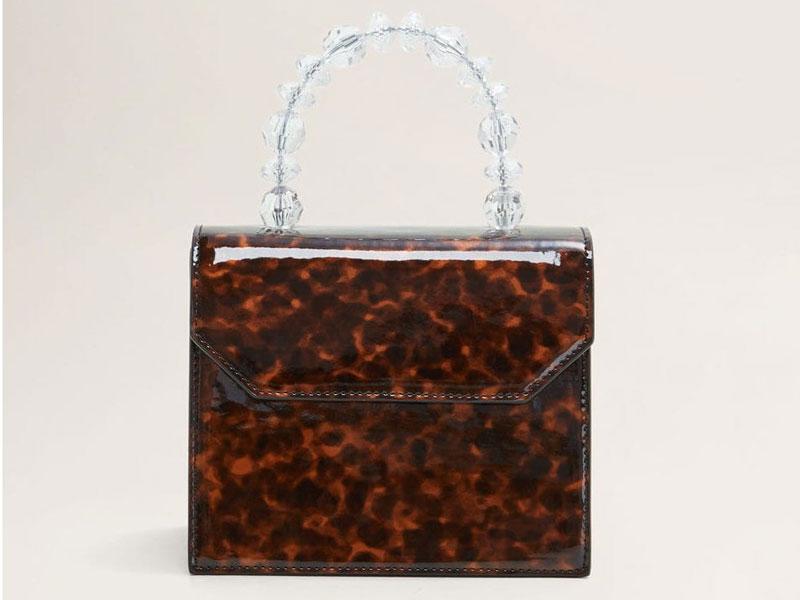 d92a239a8 حقيبة بنقشة صدفة السلحفاة، من مانجو، في مول الإمارات ومراكز سيتي سنتر للتسوق