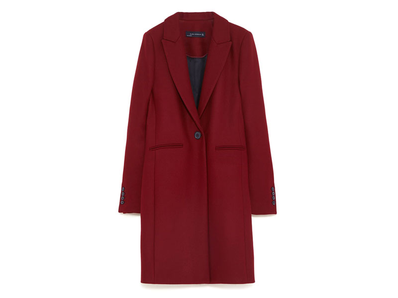Redcoat by Zara Dubai, available at Mall of the Emirates and City Centres