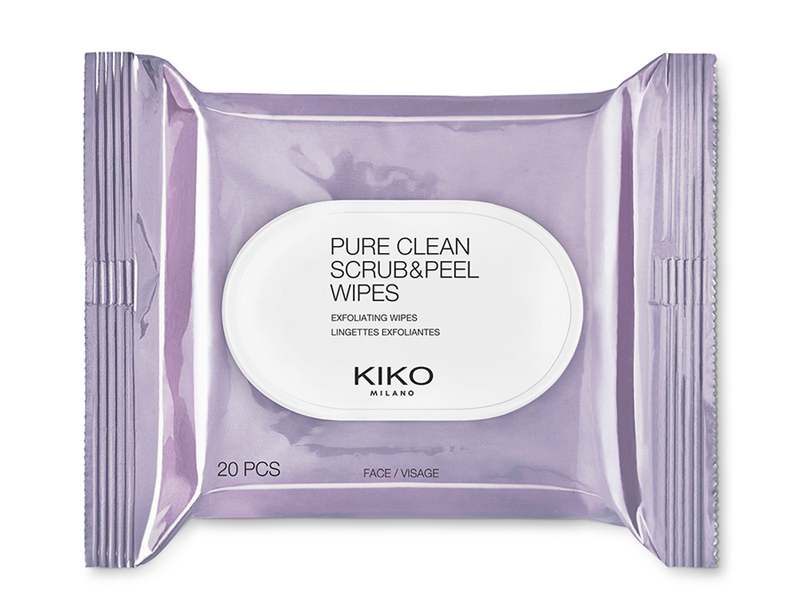 Pure Clean Scrub & Peel Wipes by KIKO Milano at City Centre Deira