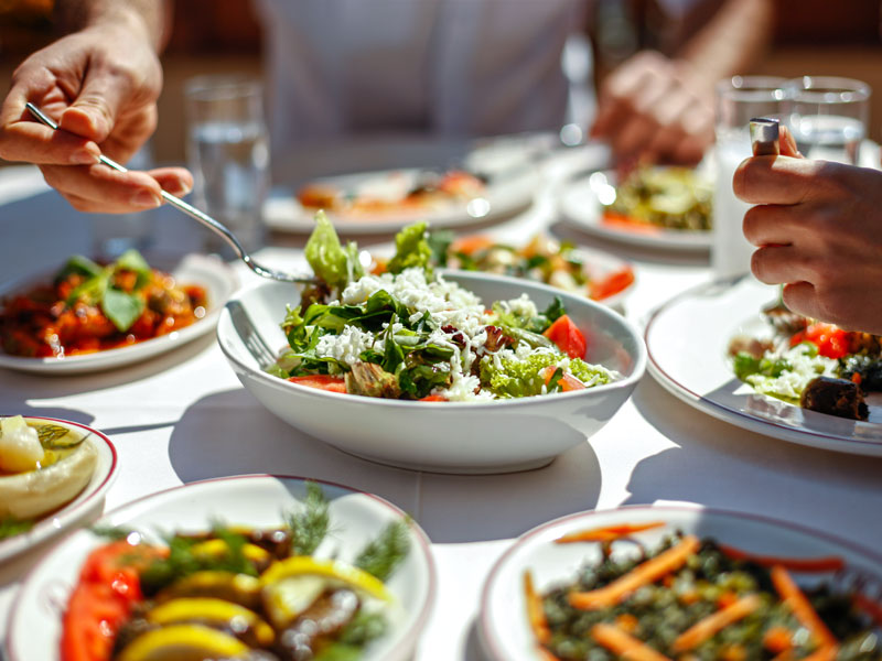 أفضل المطاعم للمأكولات الصحية والأطباق الخالية من الجلوتين في دبي