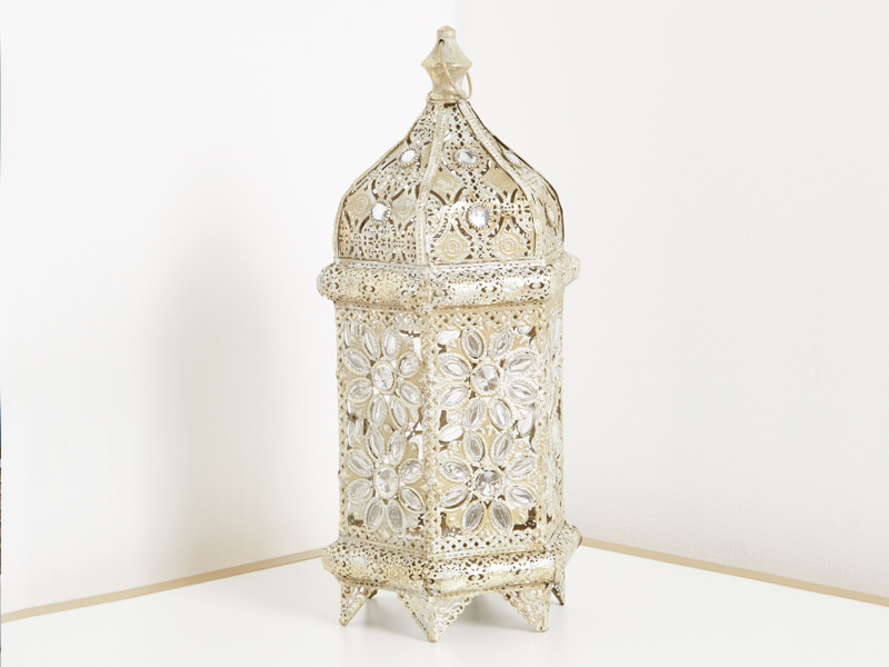 Embellished lantern by Home Centre at Mall of Egypt and City Centres