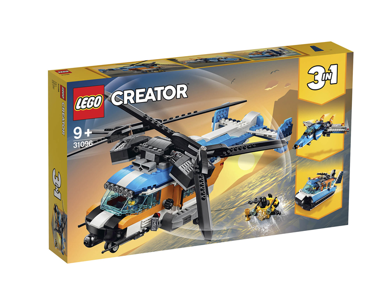"Lego Creator Helicopter from Toys ""R"" Us available at City Centre Deira"