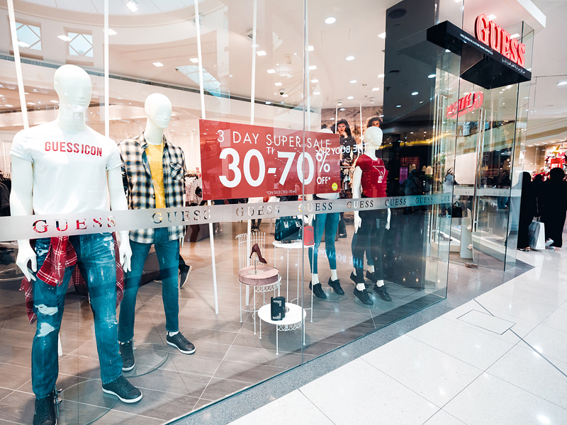 3-Day Super Sale discount at Guess in City Centre Deira