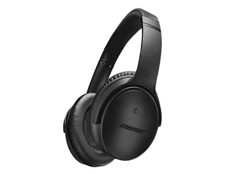 Bose Quiet Comfort 25 noise-cancelling headphones, available at Jacky's, City Centre Deira