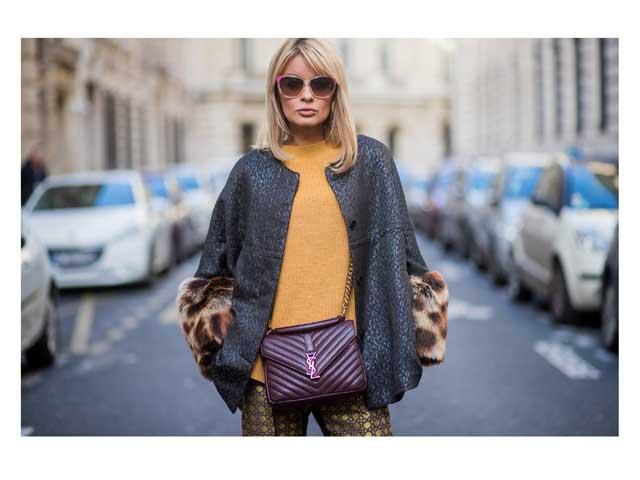 281b8050c Street style star Gitta Banko at Paris Fashion Week