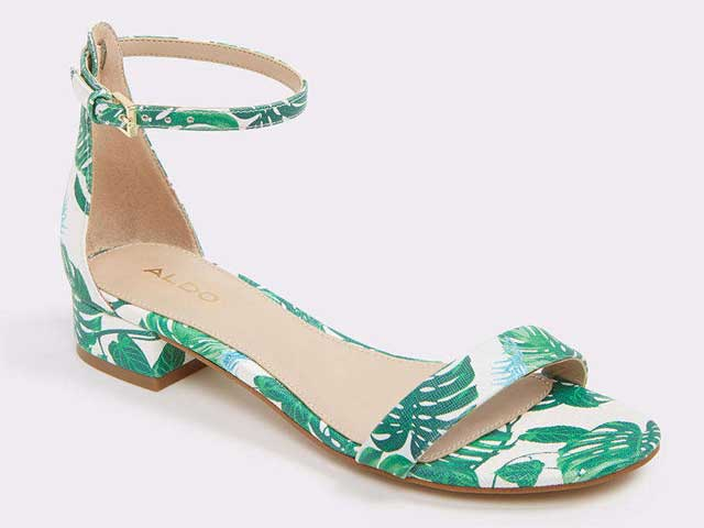 Printed sandals from Aldo at City Centre Deira