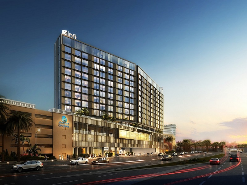 Stay At The Aloft Hotel In Deira City Centre Deira