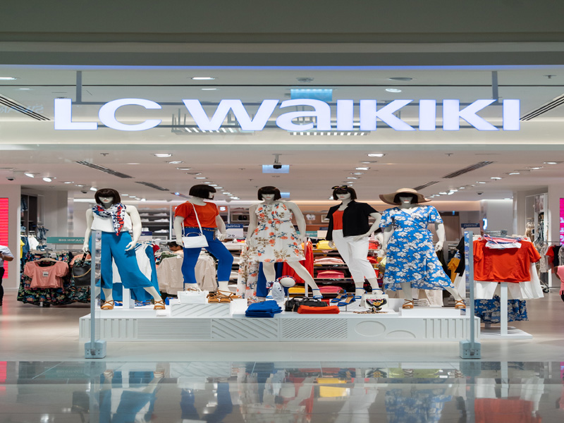 LC Waikiki and CCC open flagship stores