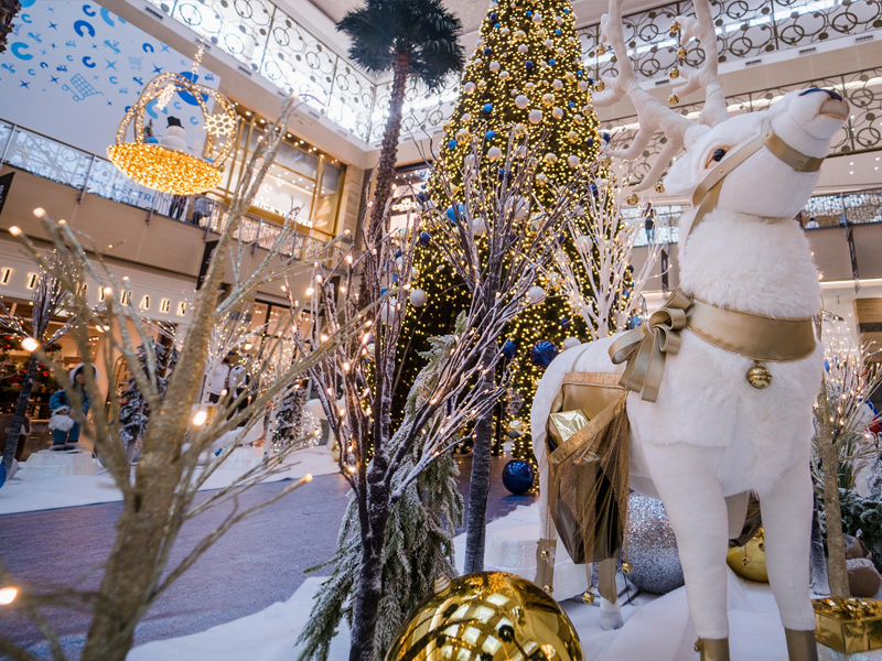 Dazzling decorations at City Centre malls across the UAE